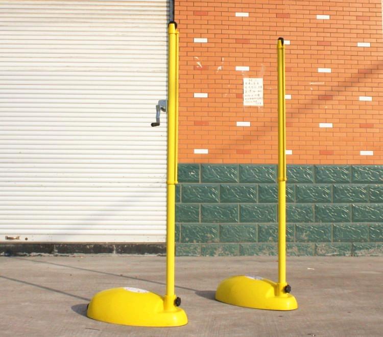 Badminton pole set